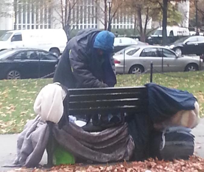 homeless man dc