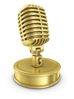 golden-microphone